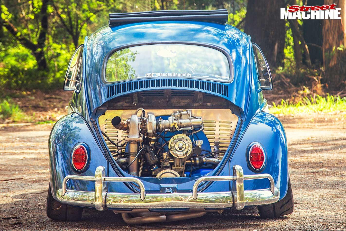 VW Beetle rear