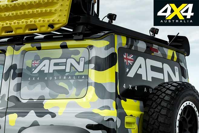 AFN 4 X 4 Suzuki Jimny AFN Branding Jpg