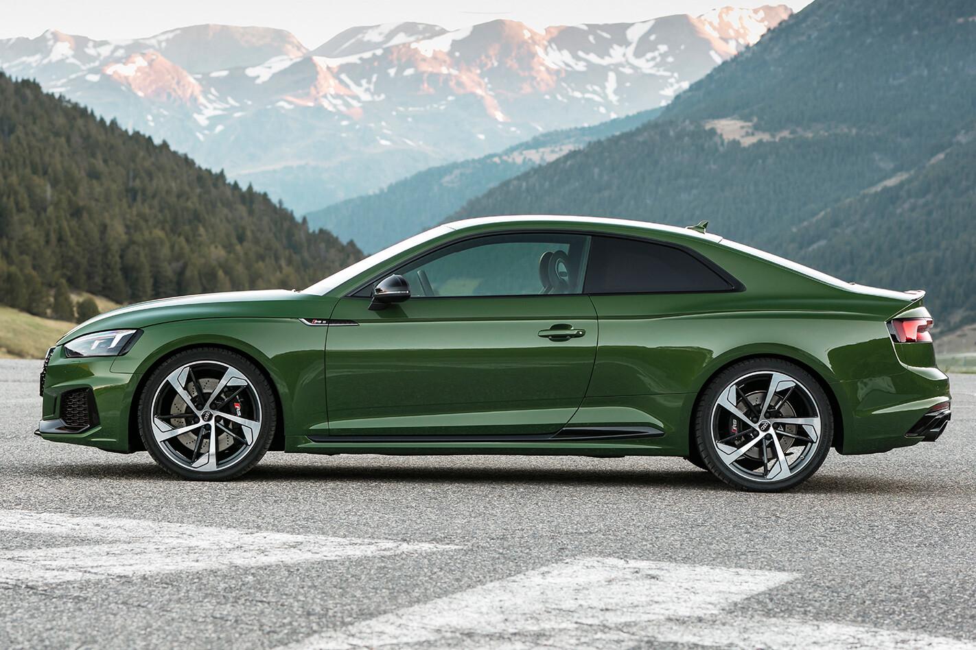 2017 Audi RS5 side profile