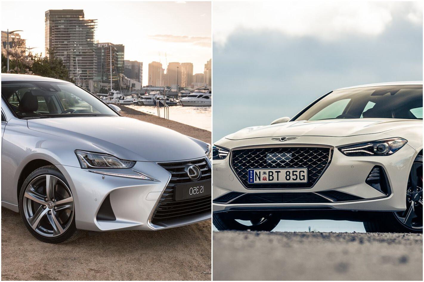Lexus IS350 vs Genesis G70