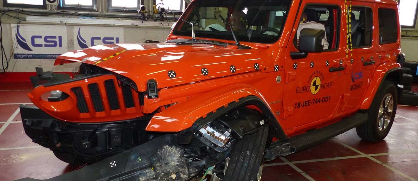 Jeep Wrangler revised three-star ANCAP safety rating