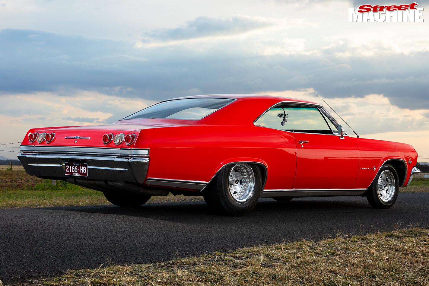 Chev Impala rear view