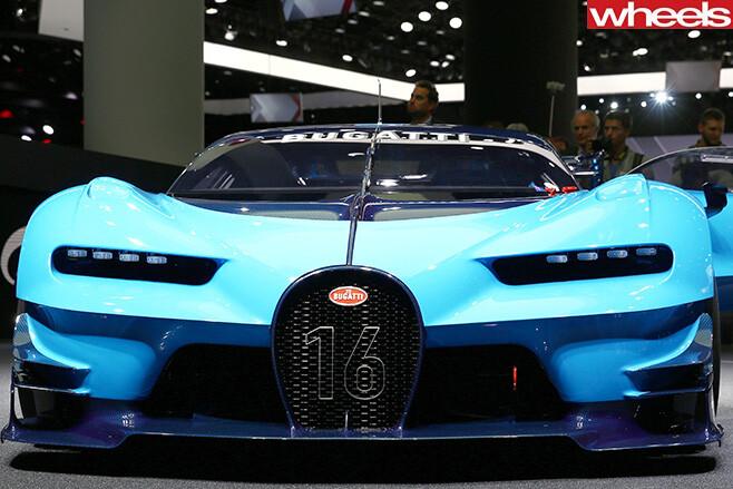 Bugatti -concept -car