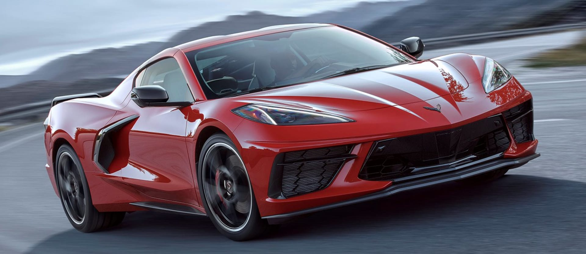 2020 Chevrolet Corvette Stingray Front Side Action Jpg