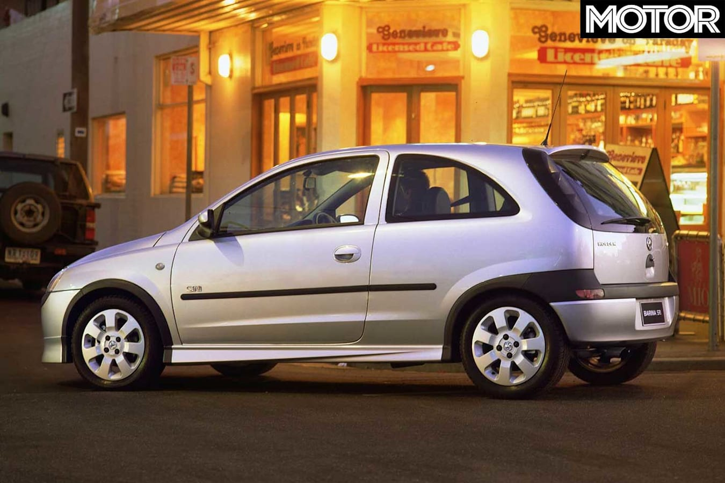 2001 Holden Barina S Ri Rear Static Jpg