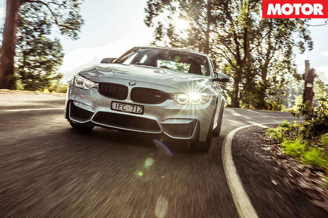 BMW M3 Competition Package front driving