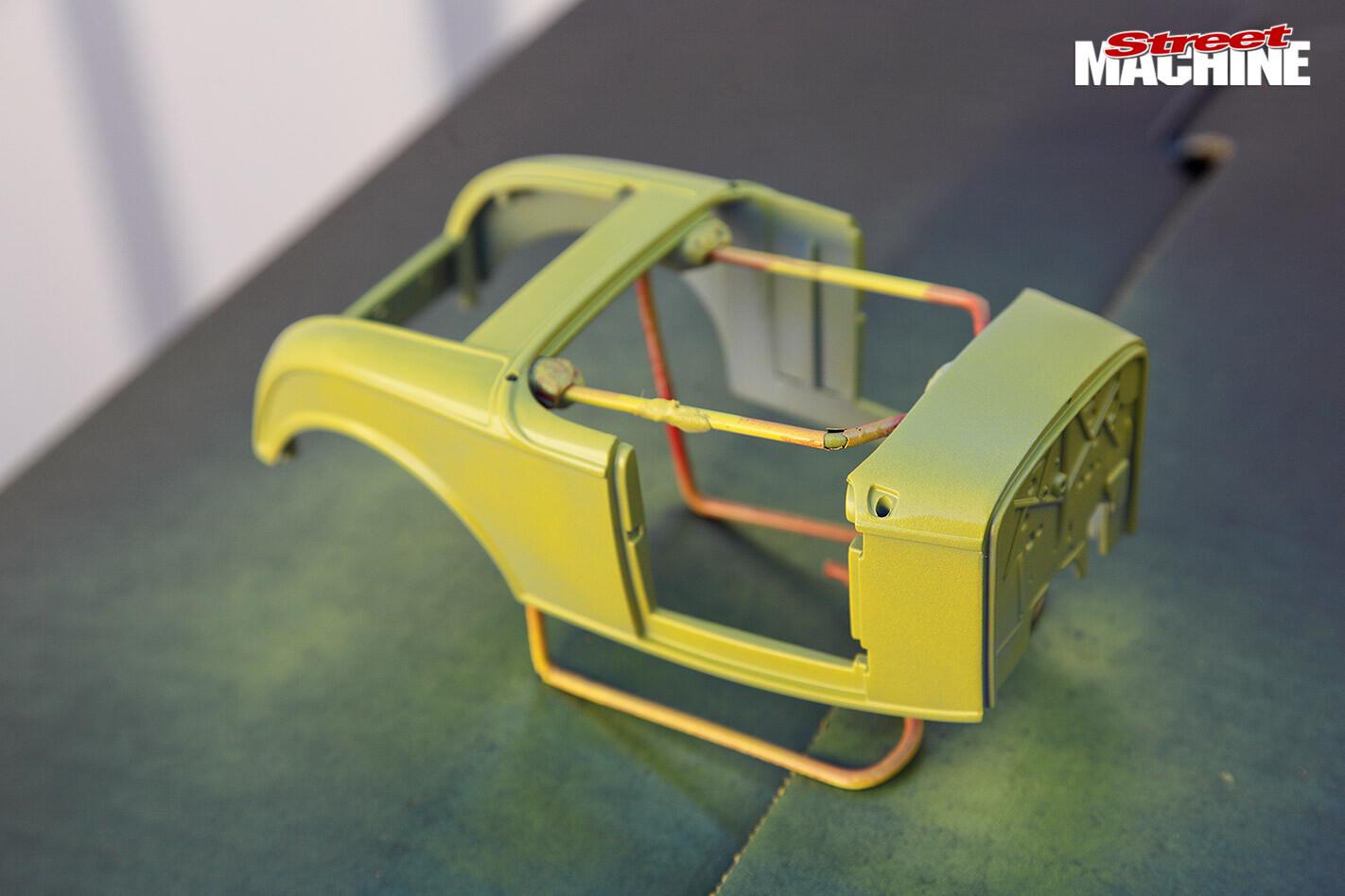 model car painting frame