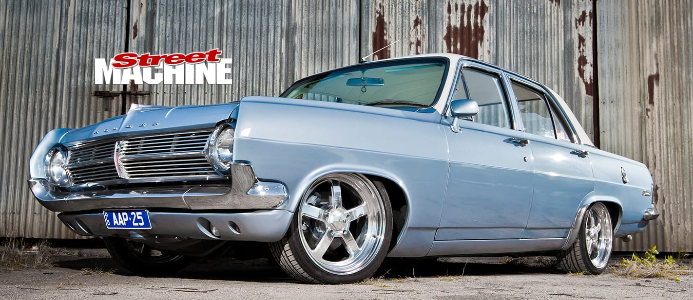 HOME-BUILT HOLDEN HD WITH TWIN BLOWERS