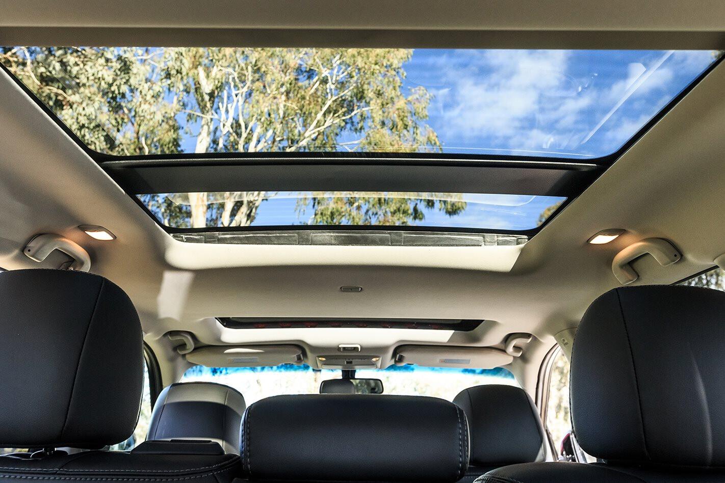 Panoramic Sunroof With Sunshade In Vehicle Jpg