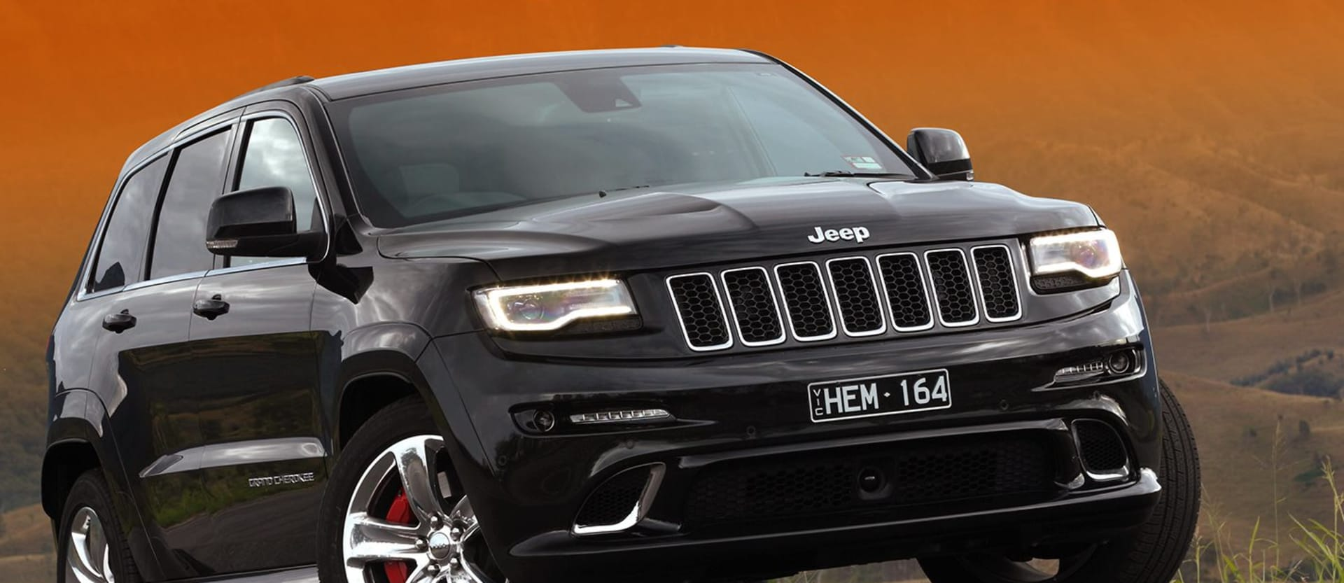 Jeep Grand Cherokee with the Hellcat engine