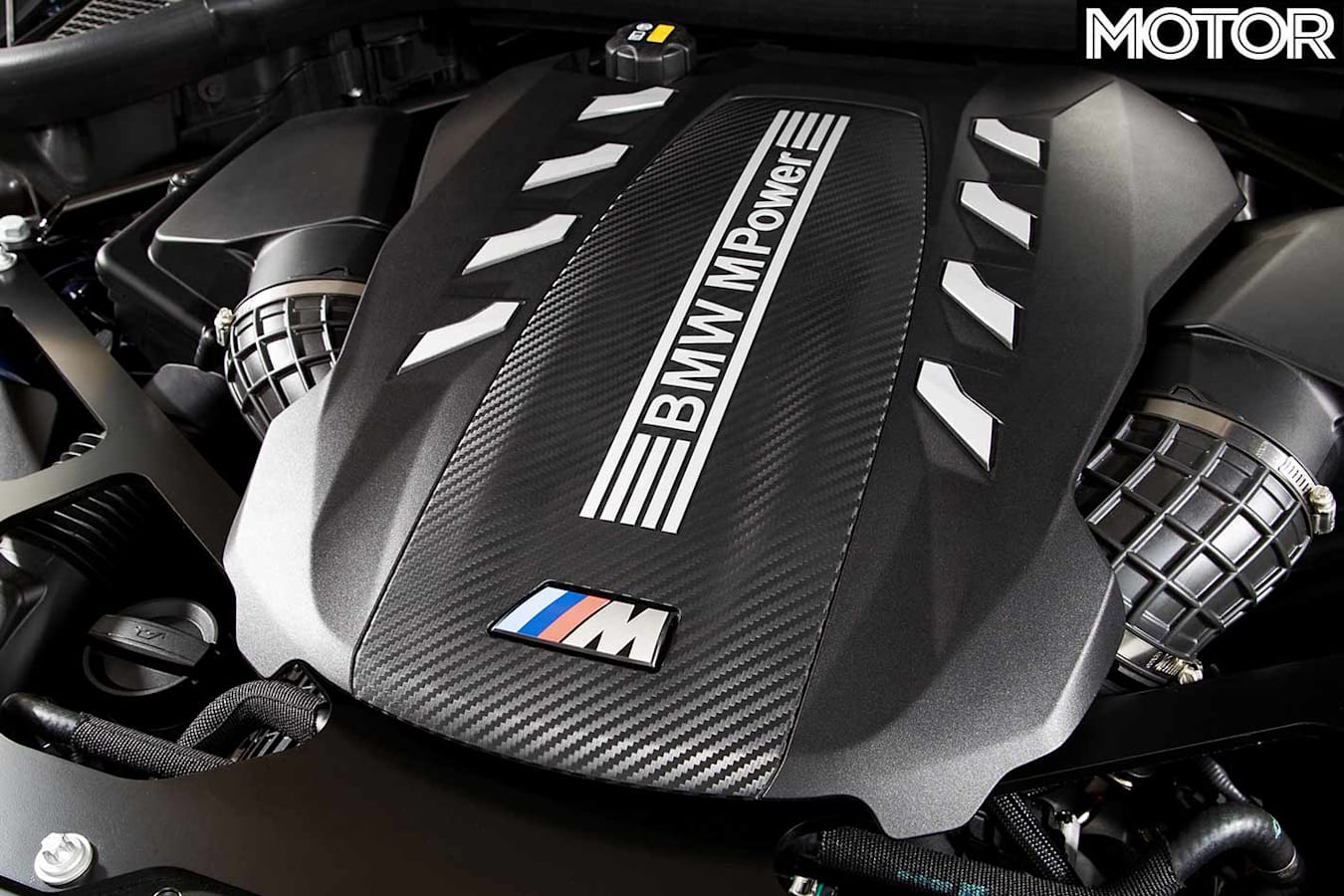 BMW X5M Competition engine