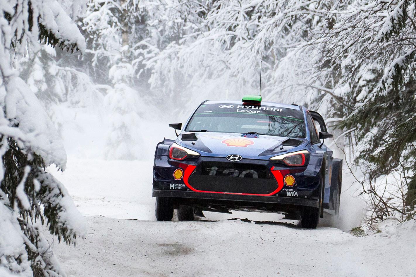 Hyundai Motorsport i20 WRC