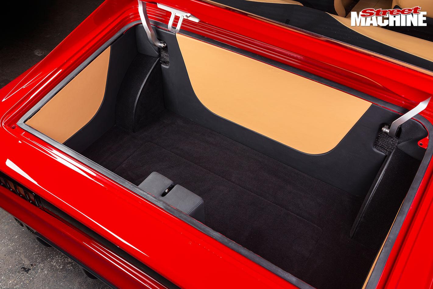 Chrysler VH Valiant Charger boot