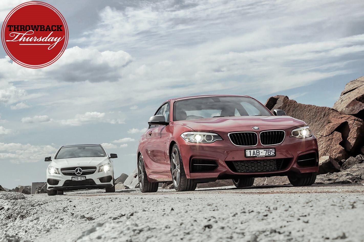 BMW M235i vs Mercedes-AMG CLA45