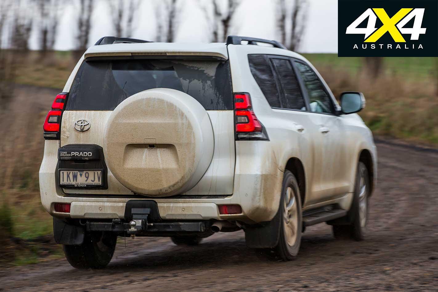 2018 Toyota Prado Handling Rear Jpg