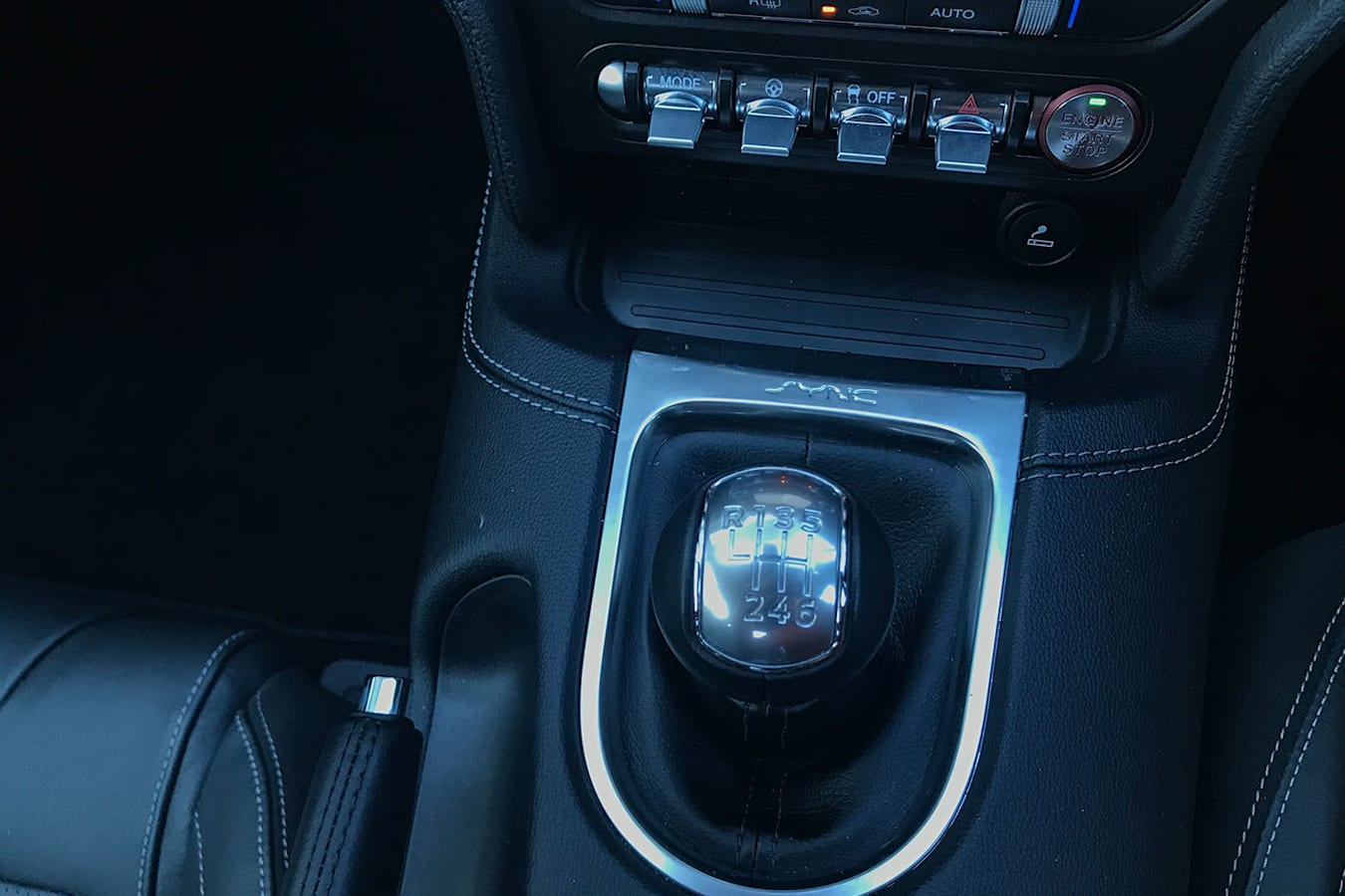 Ford Mustang six-speed manual