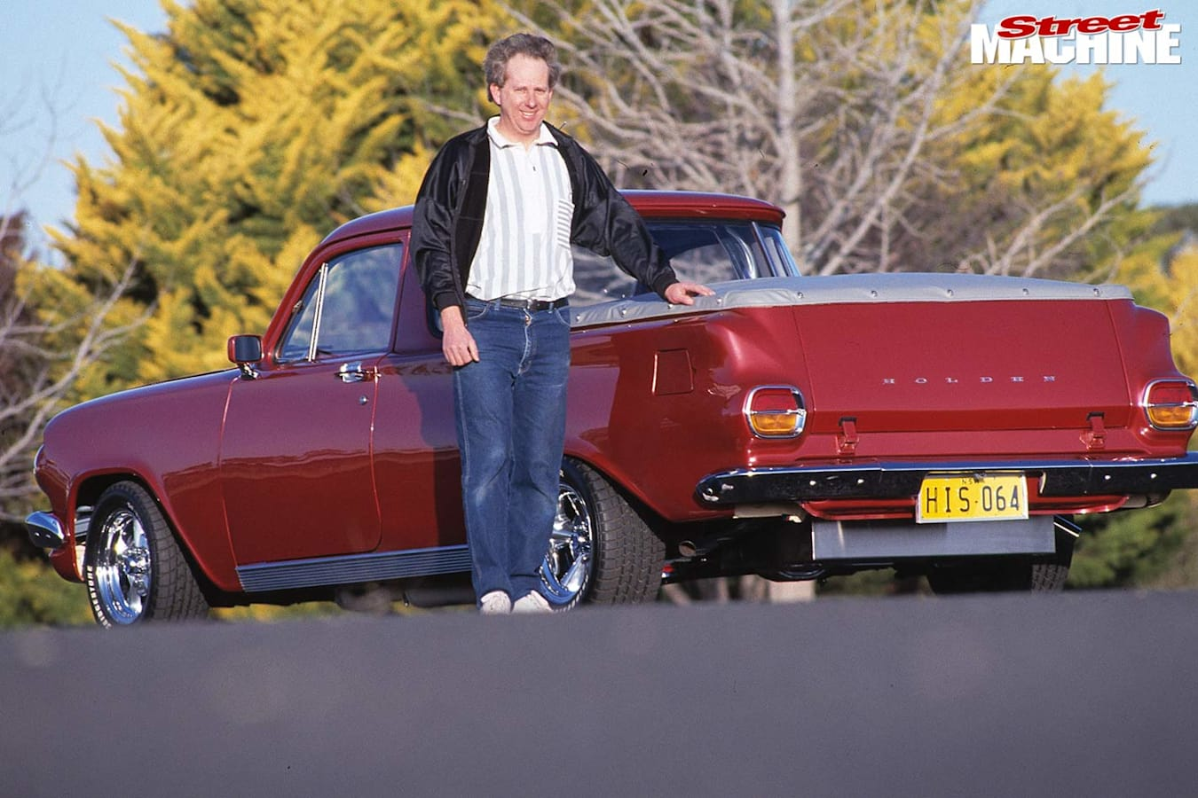 A proud owner with his EH Ute