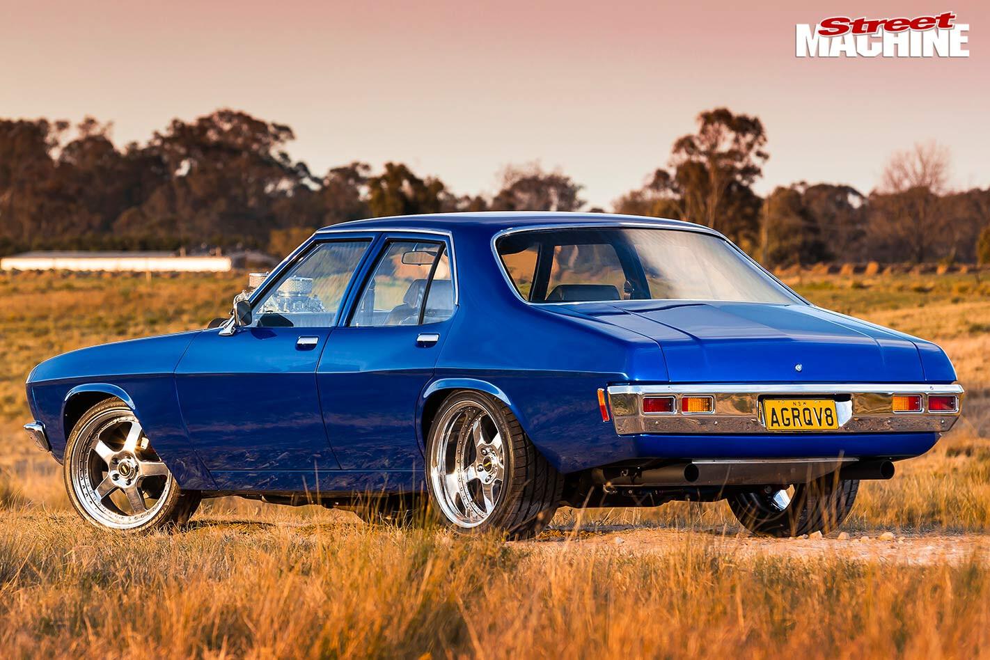 Holden HQ rear