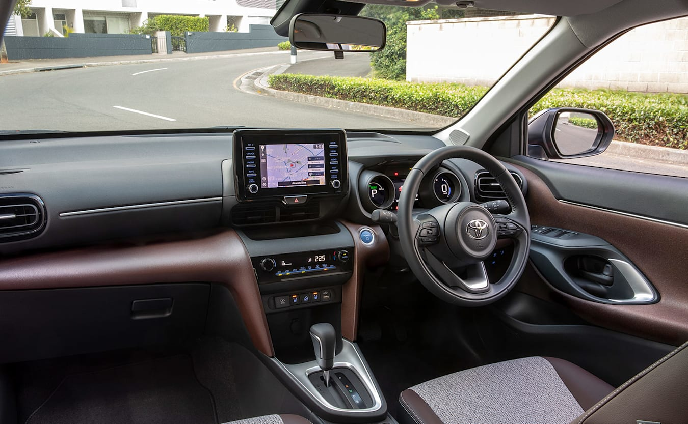 Toyota Yaris Cross interior