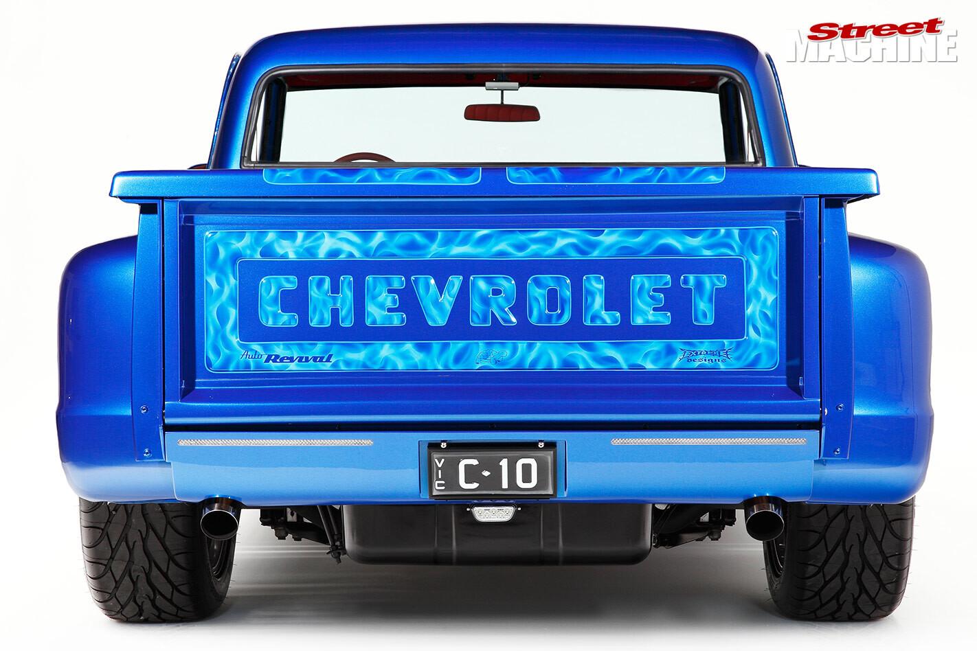Chev C10 rear