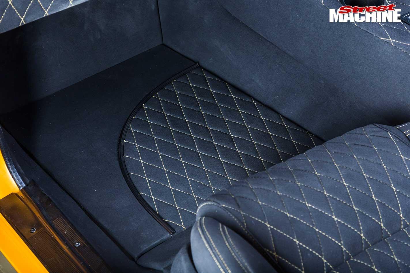 Chevrolet Nova interior rear interior