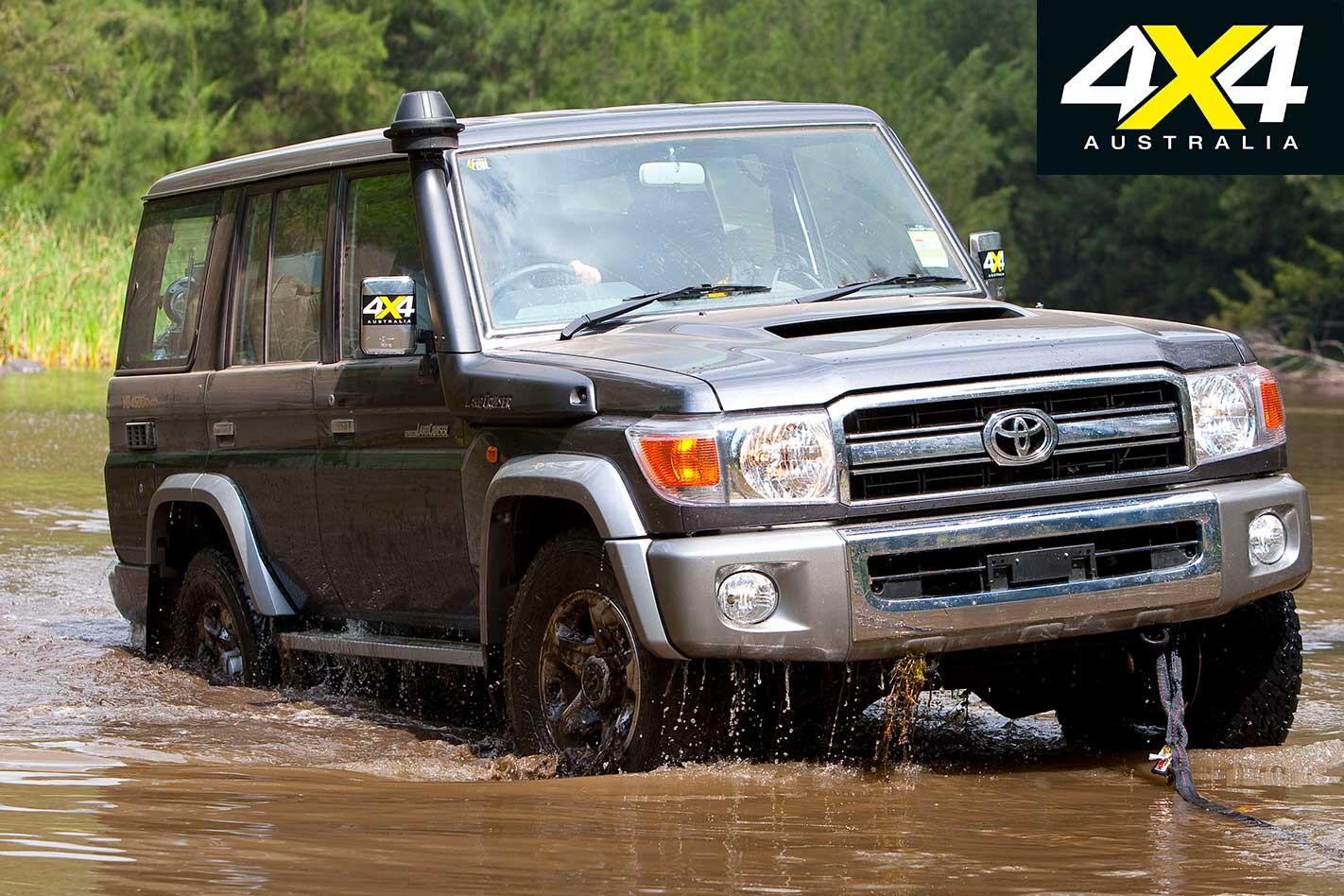 2009 Toyota Landcruiser 76 Series Water Wading Jpg