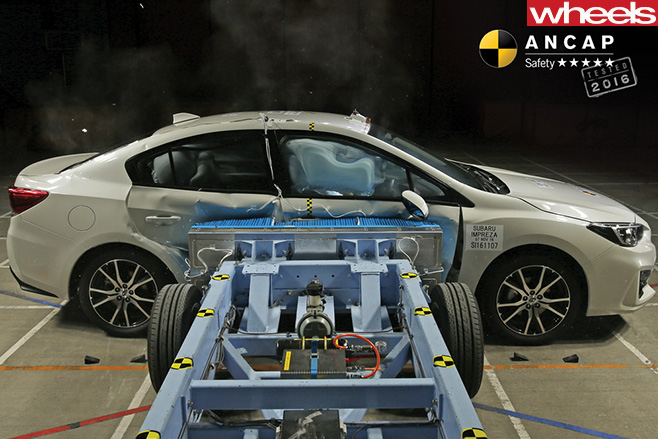 Subaru -crash -test -ANCAP