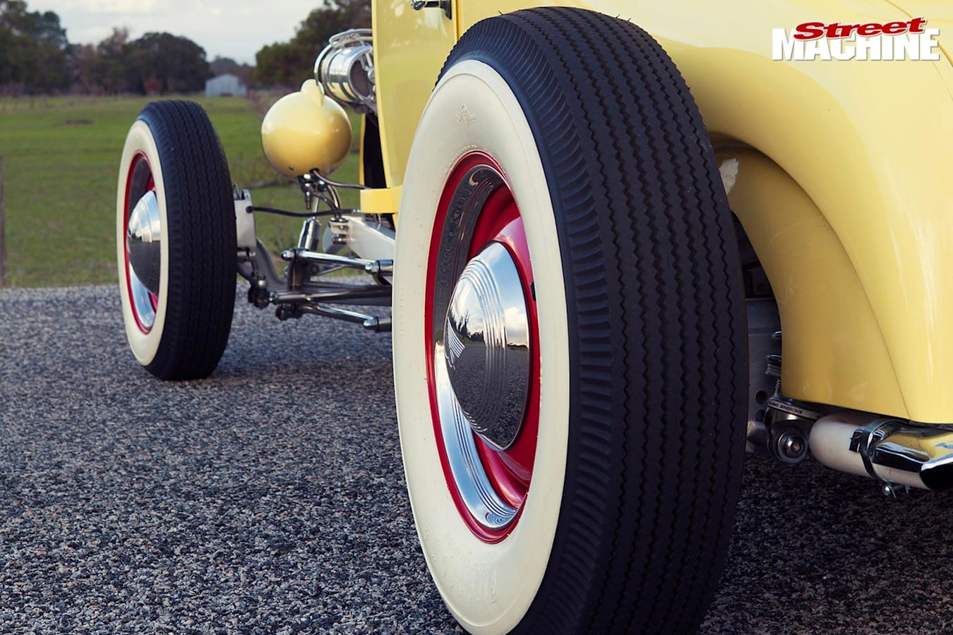 Ford Model T coupe wheels