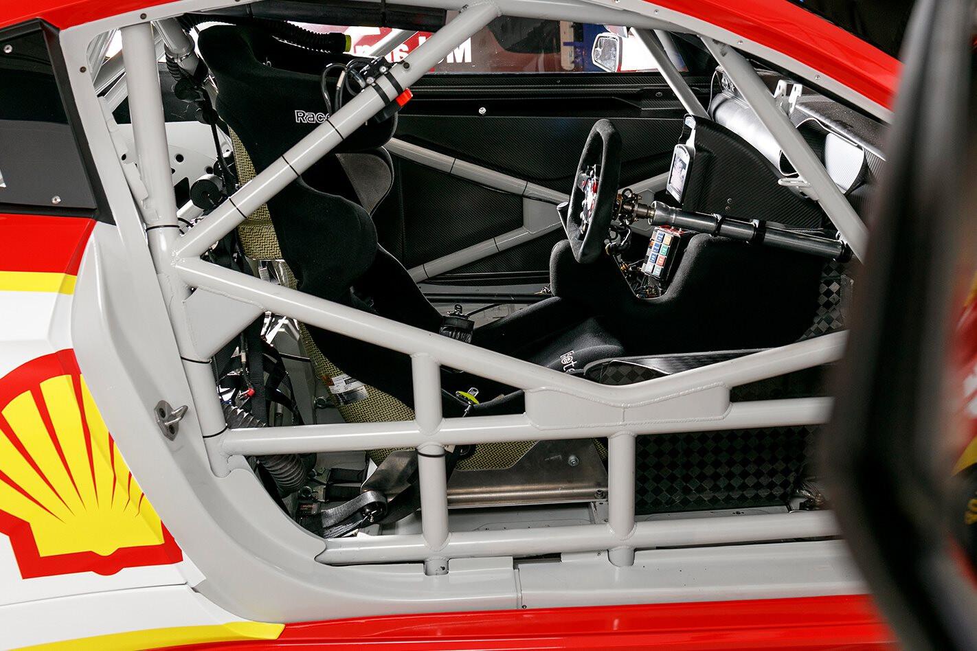 Mustang Supercar Inside Jpg