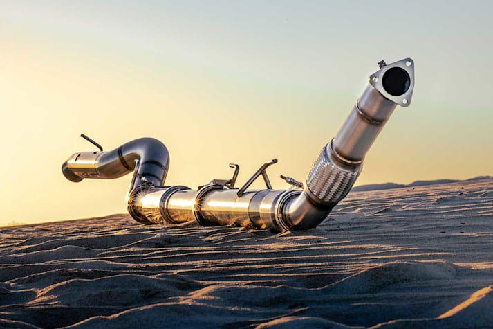 Lux Fab exhaust system
