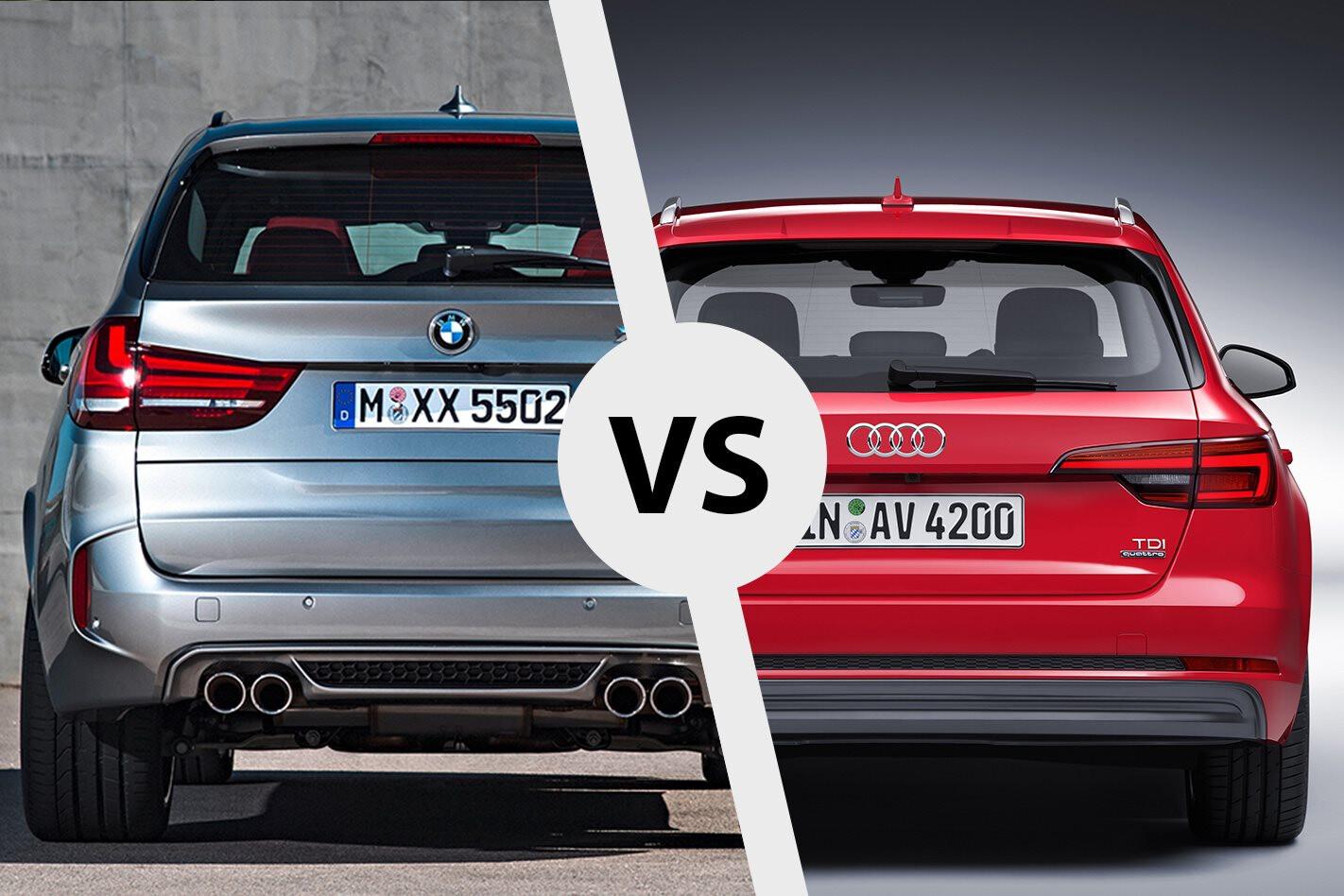 Audi Wagon Vs BMW SUV Jpg