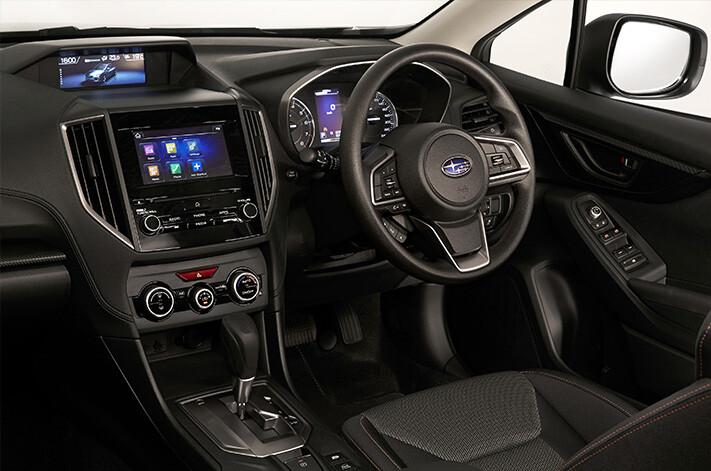 Subaru Xv Interior Jpg
