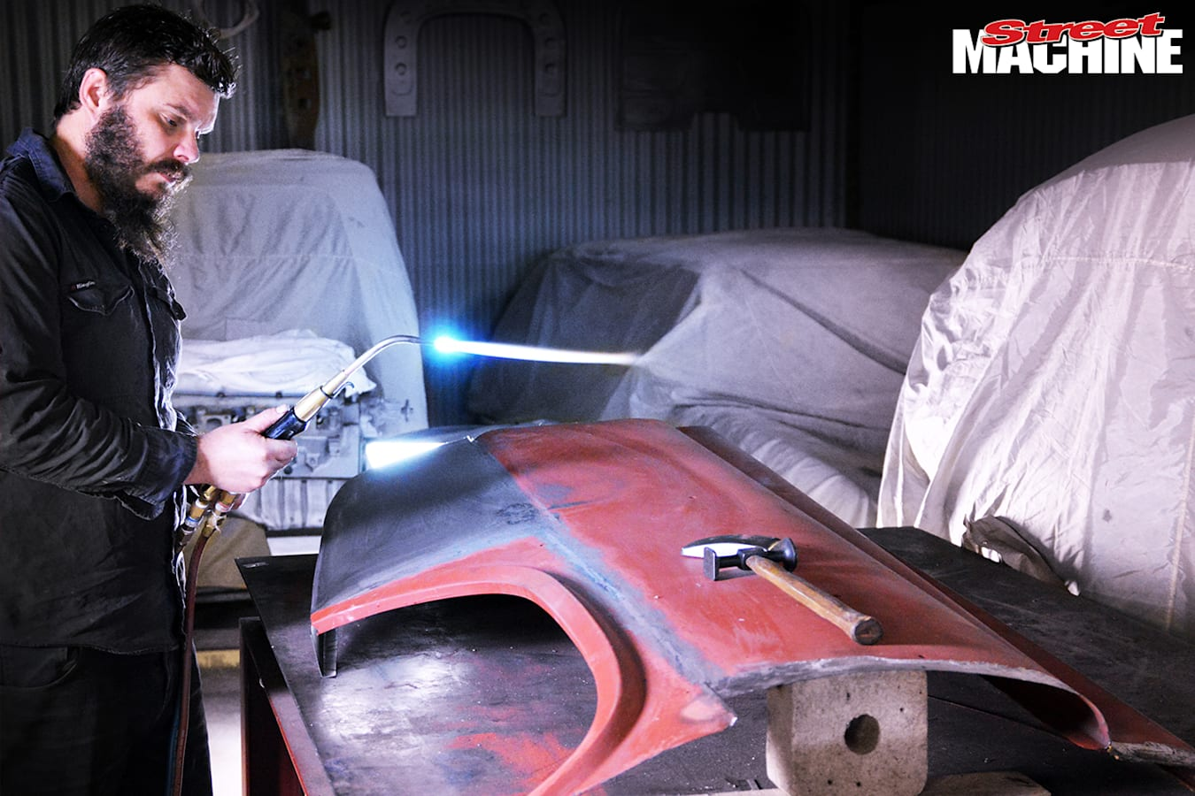 Heat shrinking metal how to