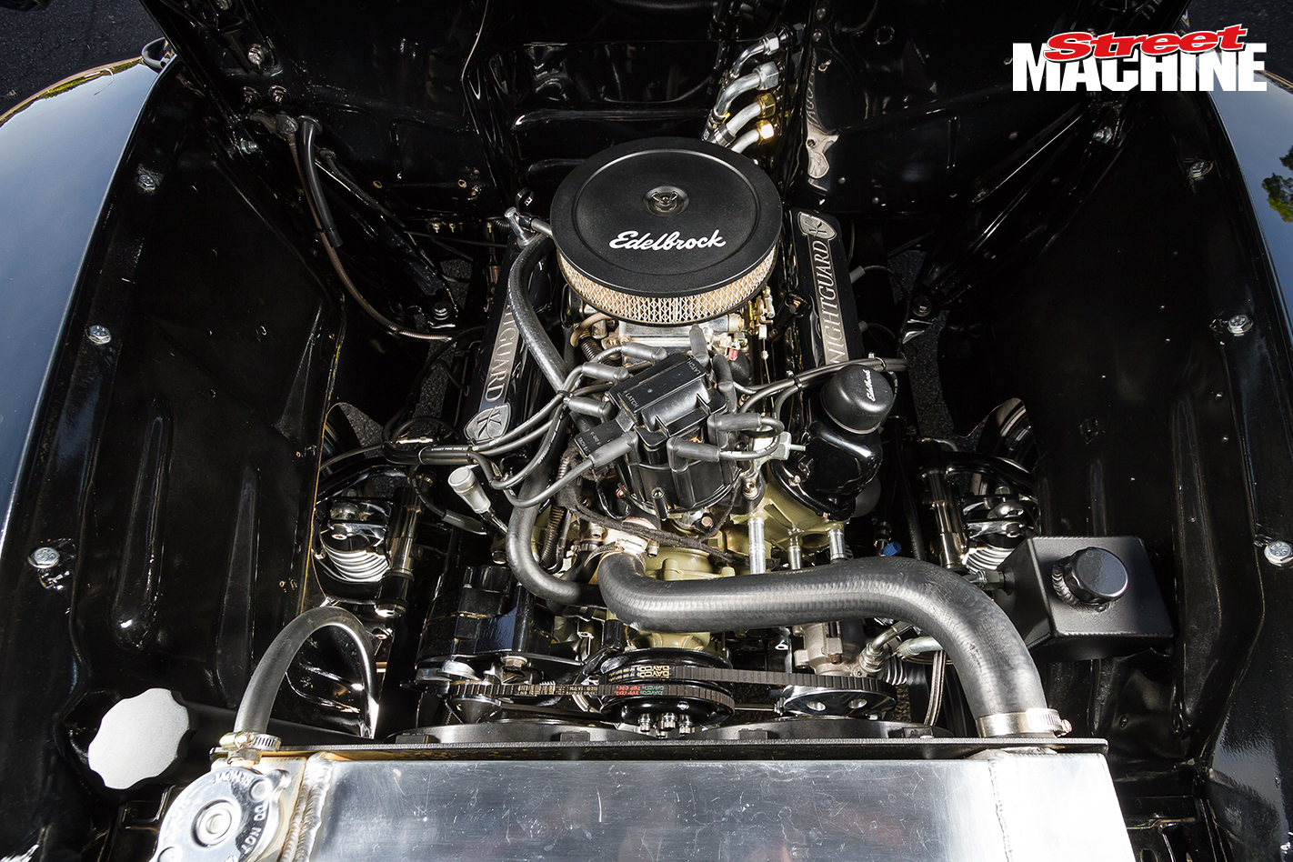 52 Ford F1 Pick Up Engine