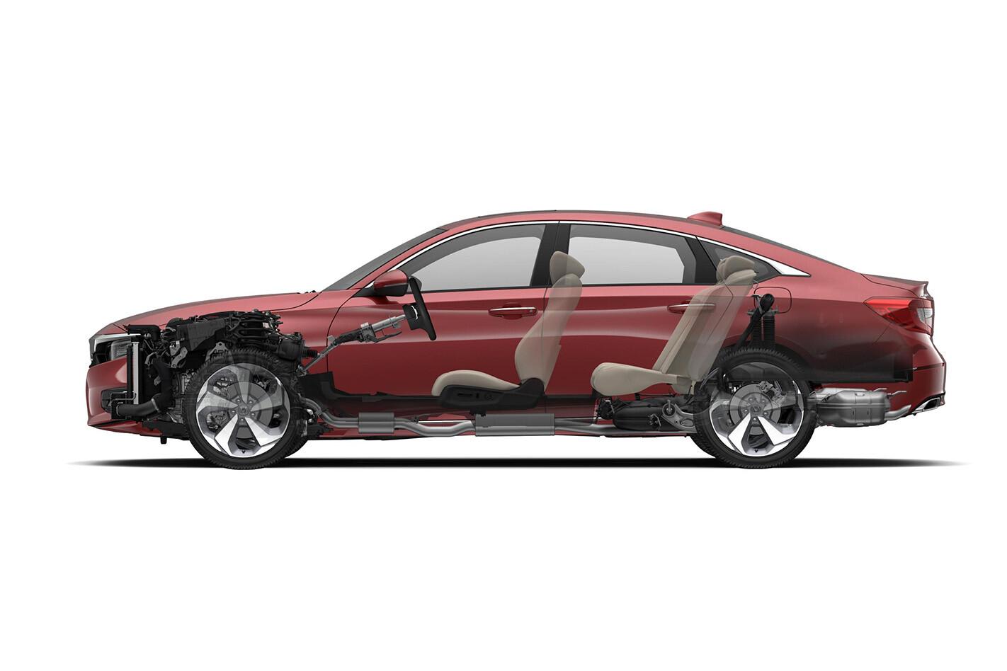 2020 Honda Accord cutaway