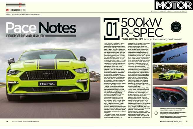 MOTOR Magazine November 2019 Issue Preview News Jpg