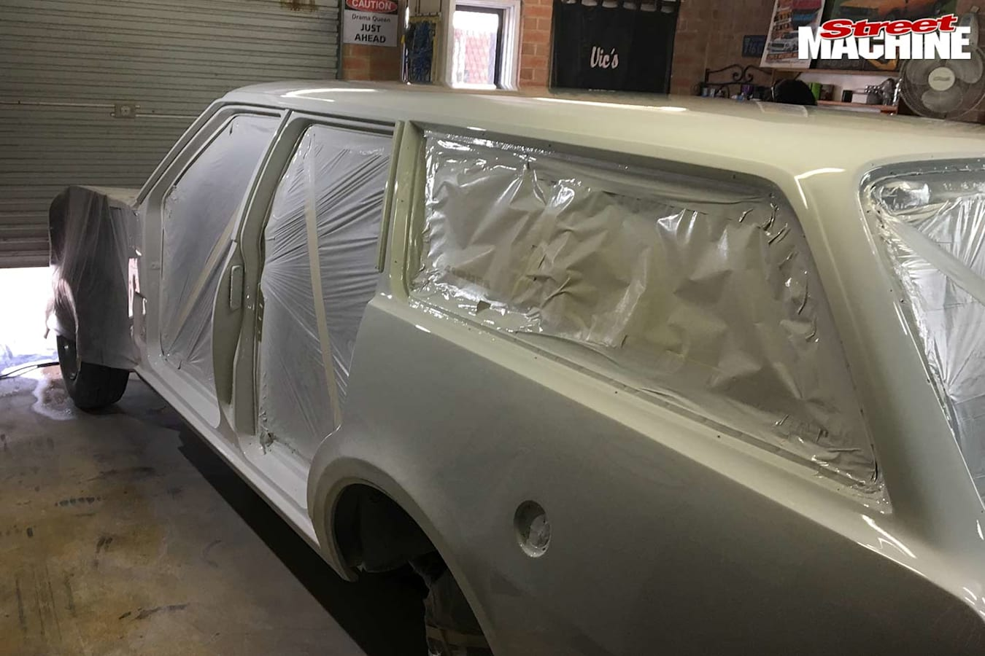 Holden HT wagon build