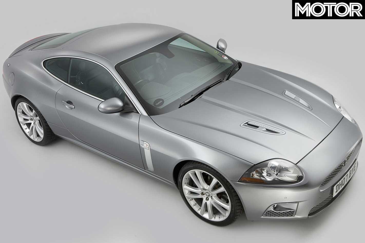 2006 Jaguar XKR Top Front Jpg