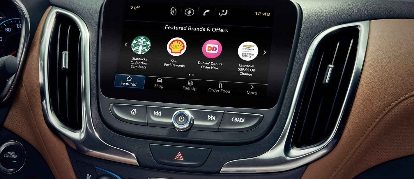 GM rolls out in-car advertising