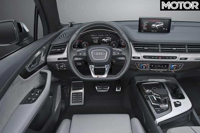 2020 Audi SQ7 TDI interior