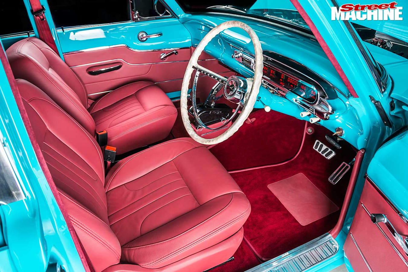 Ford XM interior