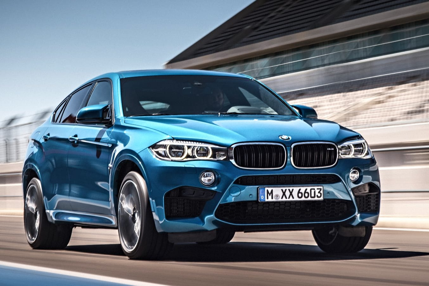 BMW X 6 M Front Side Jpg