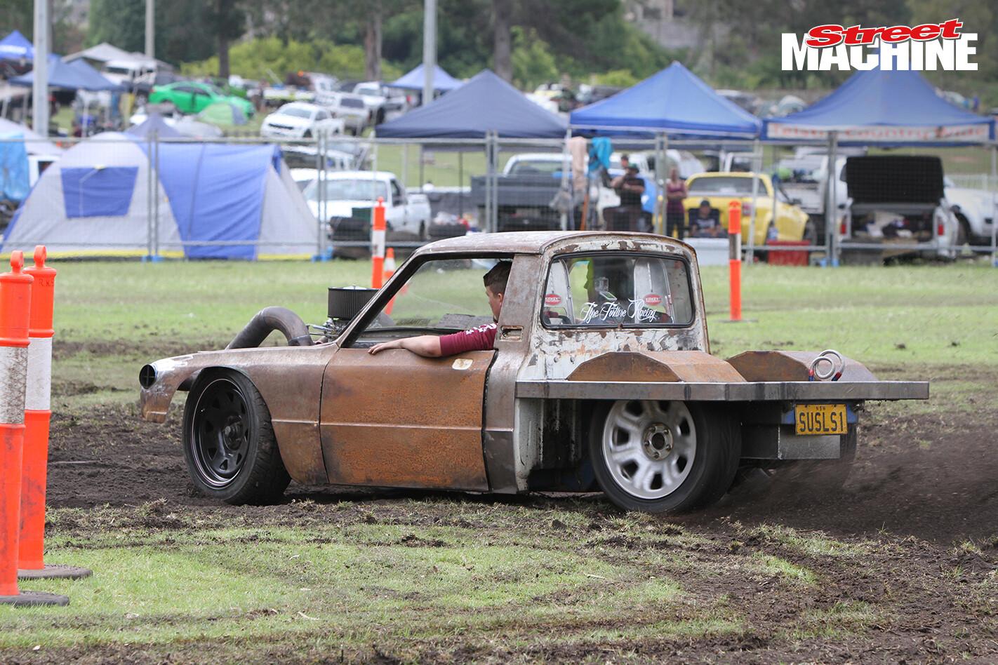 SUSLS1 Mazda Ute Burnout 11 Nw