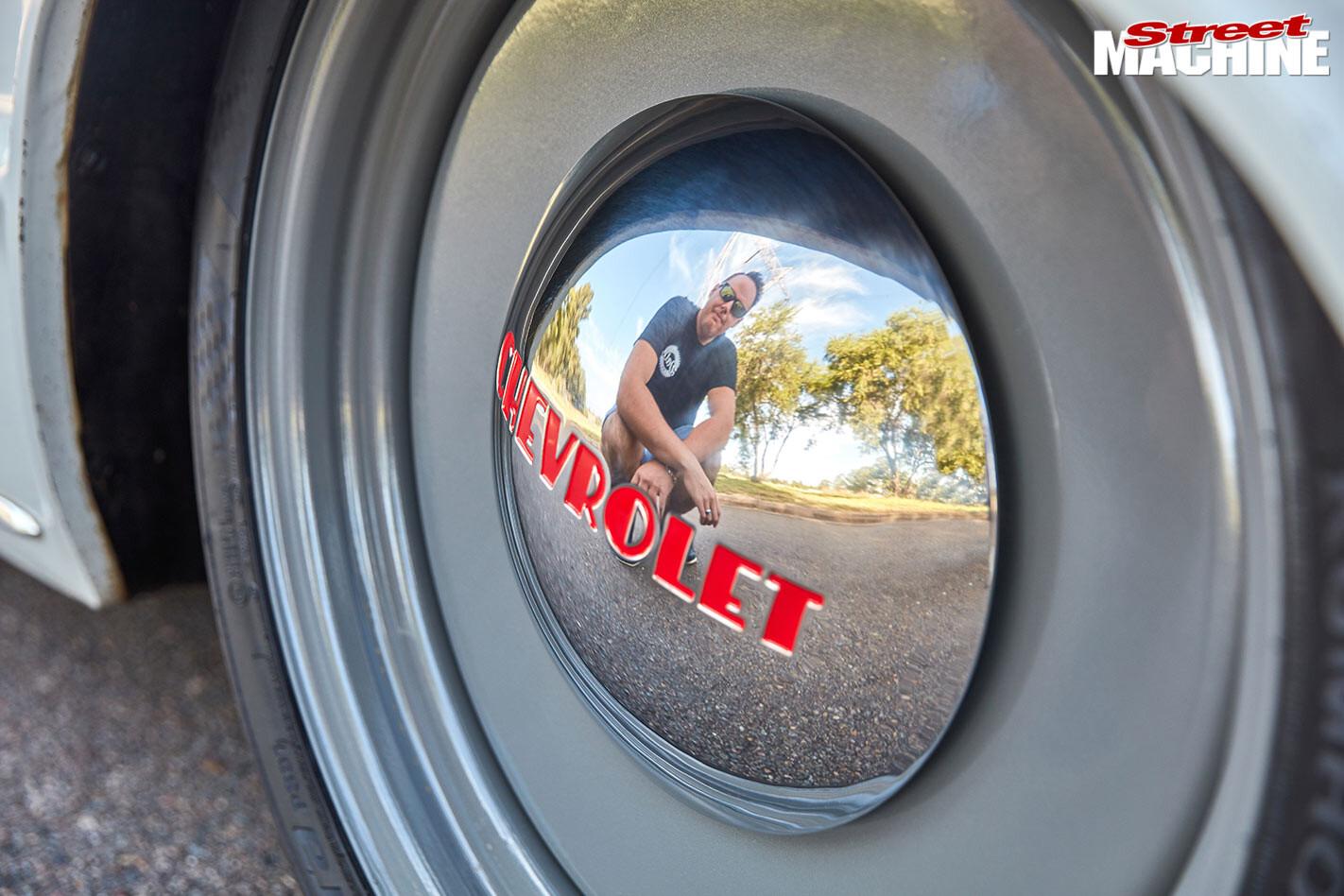 Chev Bel Air wheel