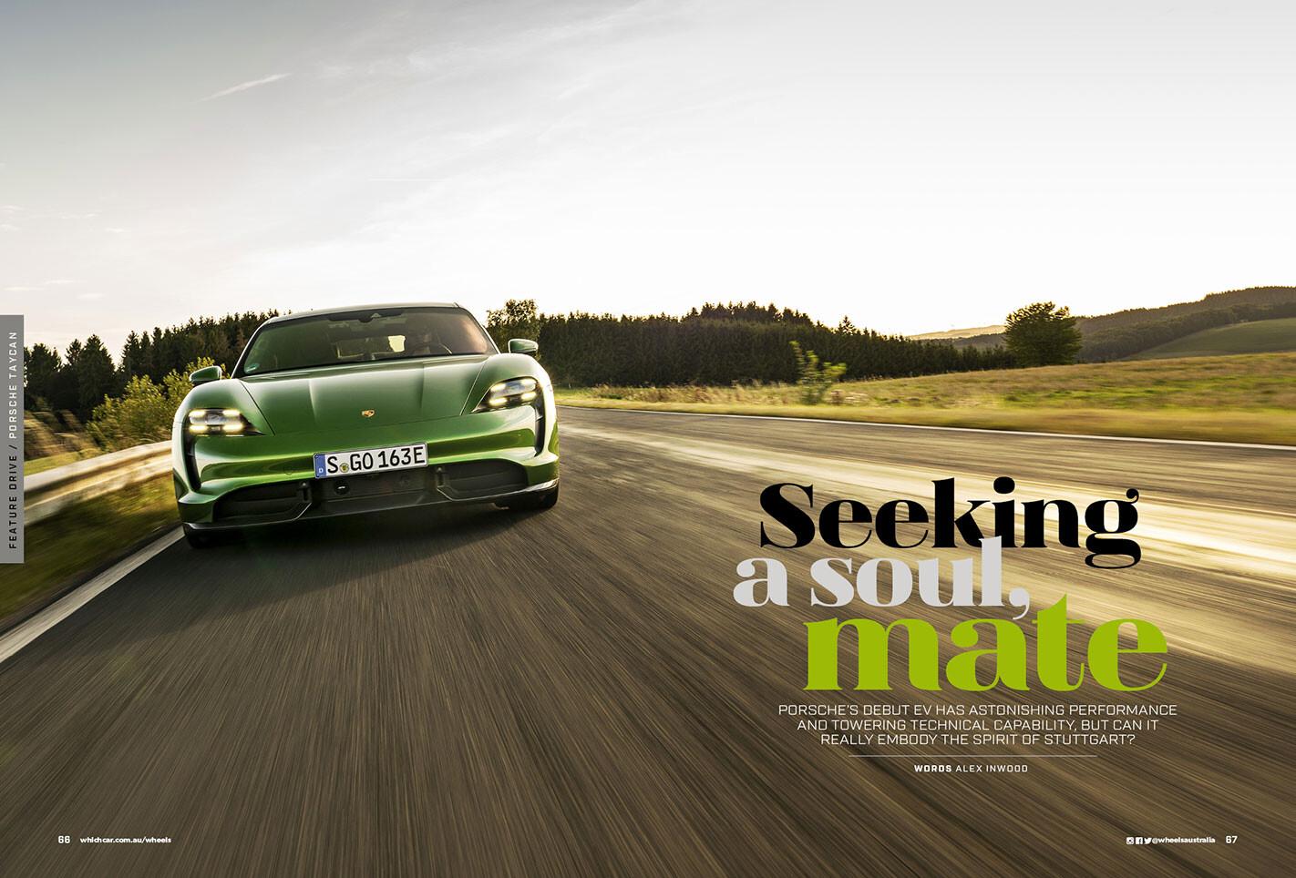 Porsche EV Debut