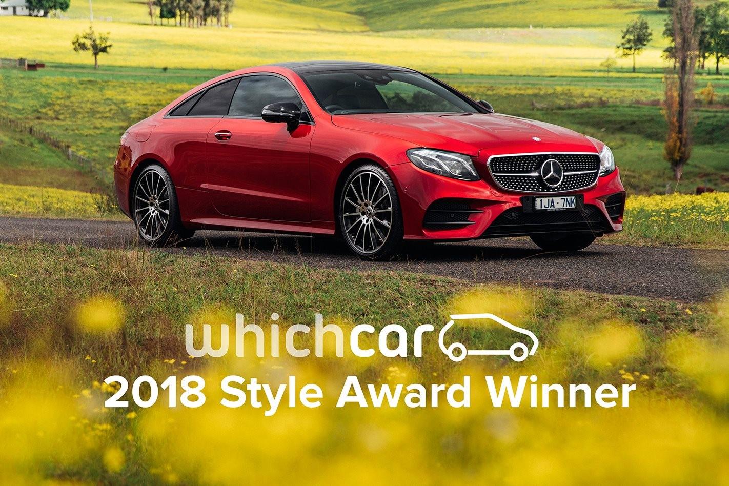 2018 Mercedes-Benz E-Class Coupe wins WhichCar Style Award