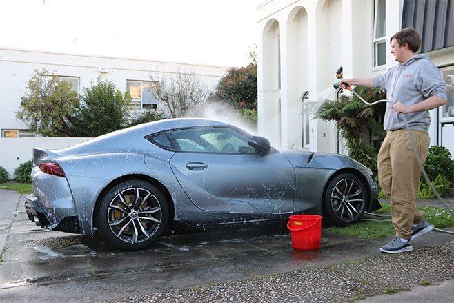Toyota Supra GT wash