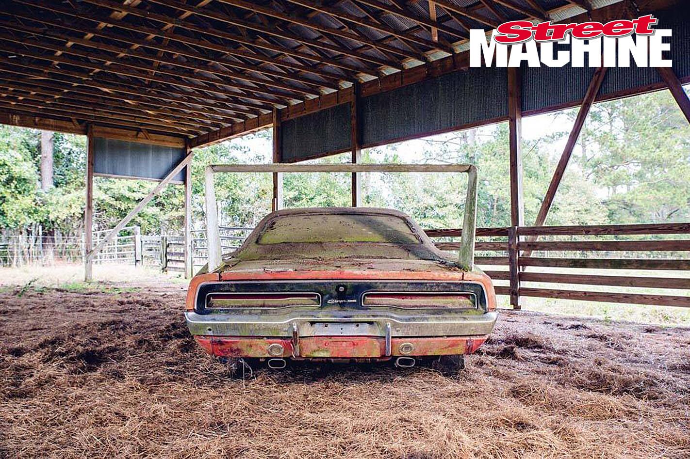 Barn Find Dodge Daytone Rear