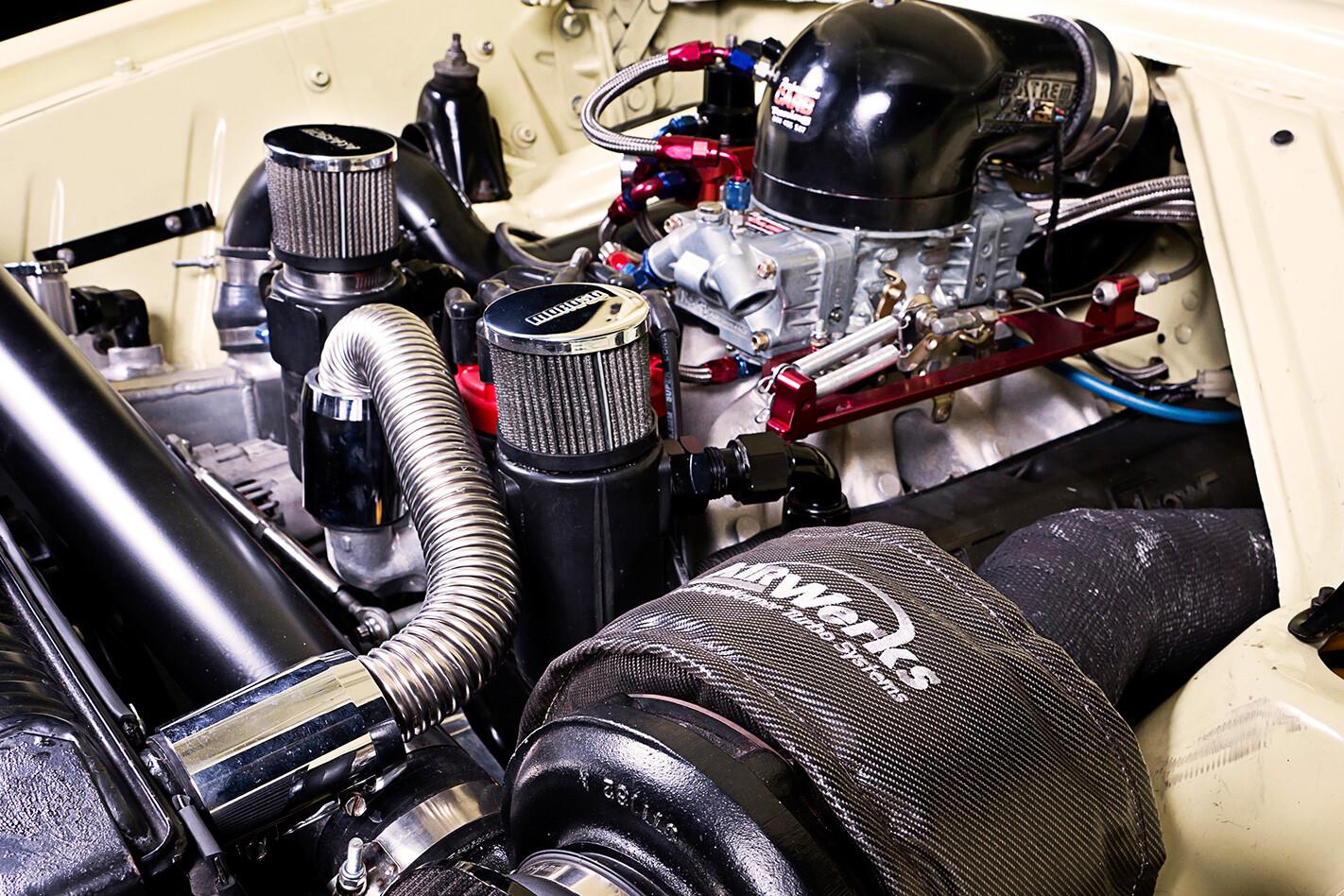 1963 FORD XL FUTURA engine