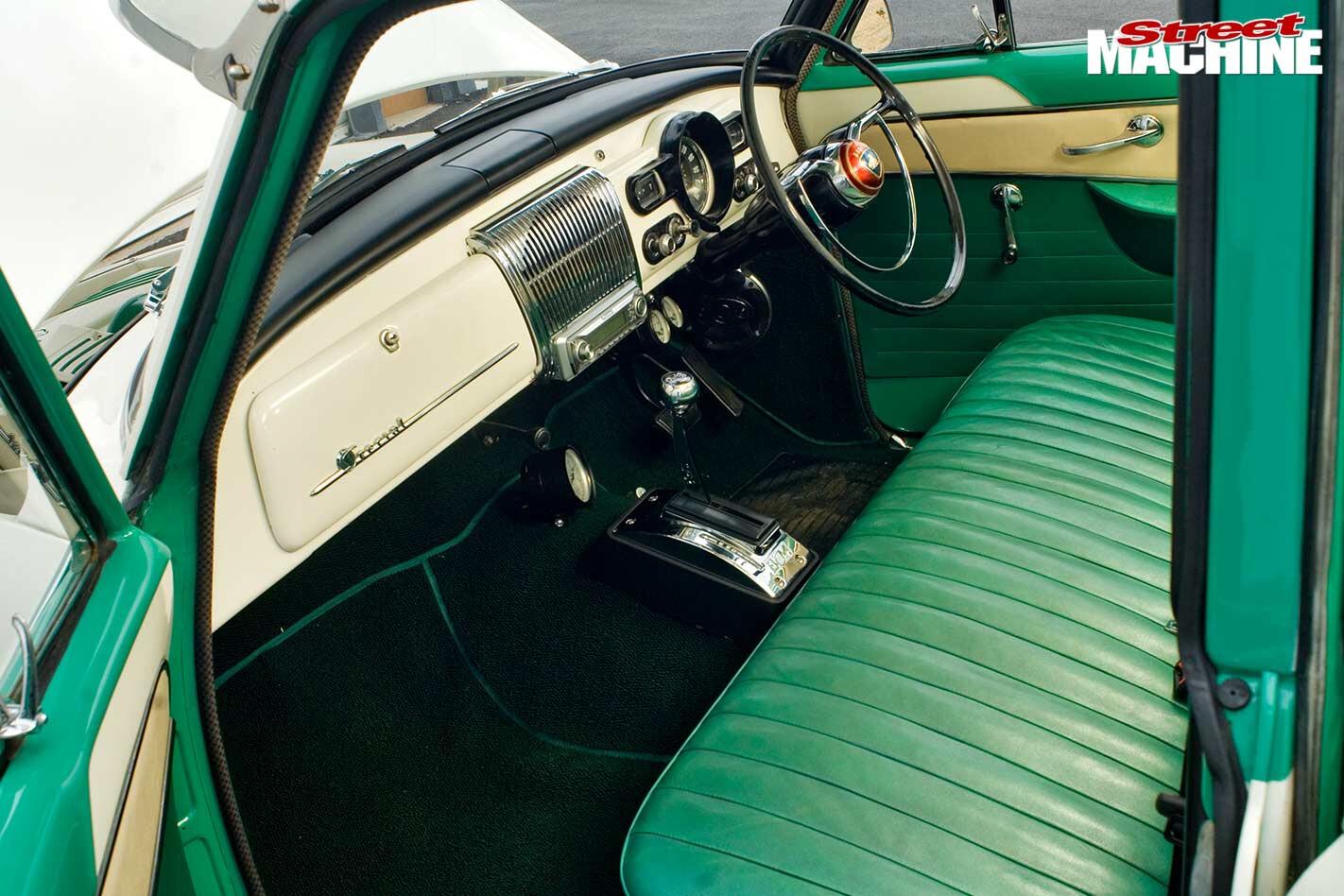 Holden FC Special interior